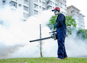 Semburan Fogging Bagi Mengawal Denggi dan Zika